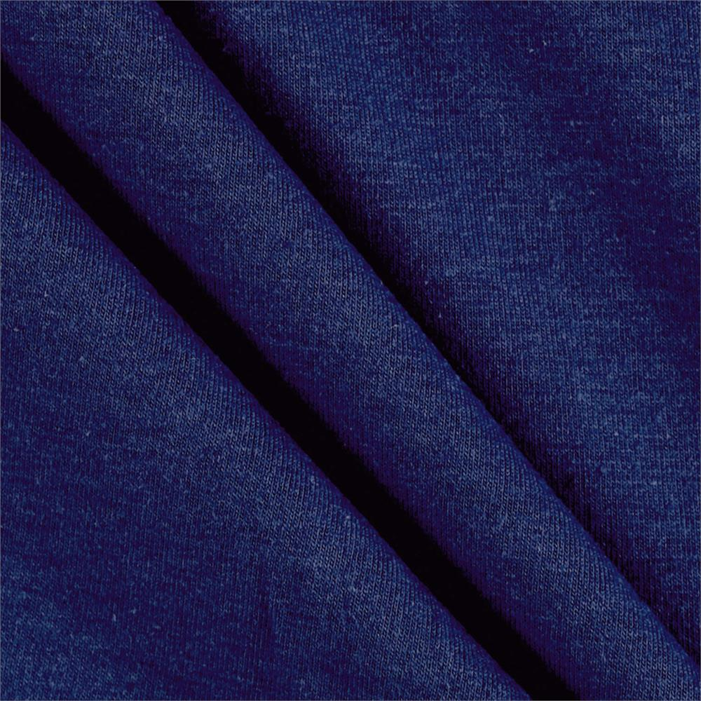 53862834b40 Fabric Merchants Cotton Lycra Spandex Jersey Knit Blue Denim ...