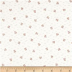 Summer's Retreat Minature Flowers Cream