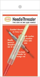 Dual Needle Threader Fabric