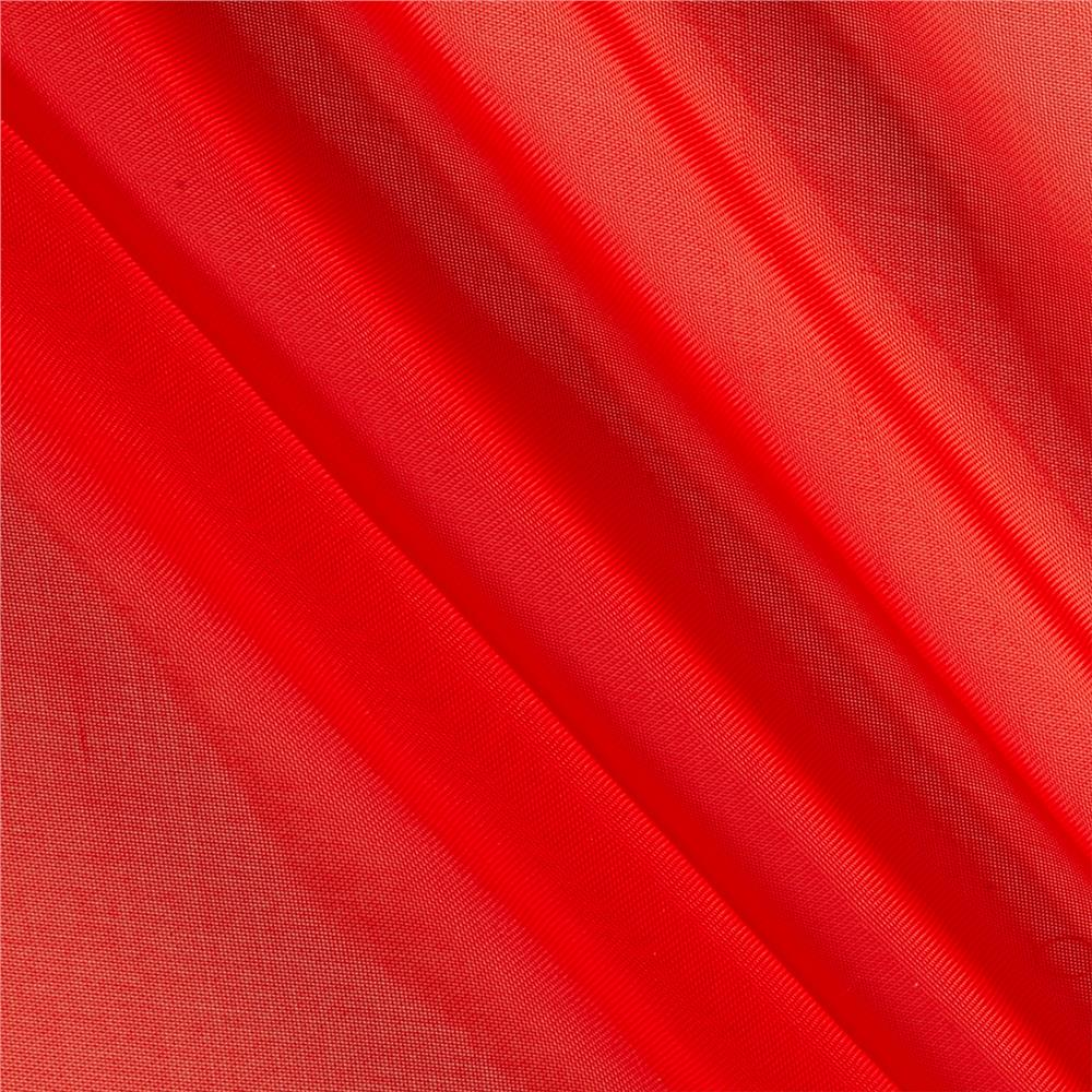 120 sheer voile red discount designer fabric for Sheer fabric