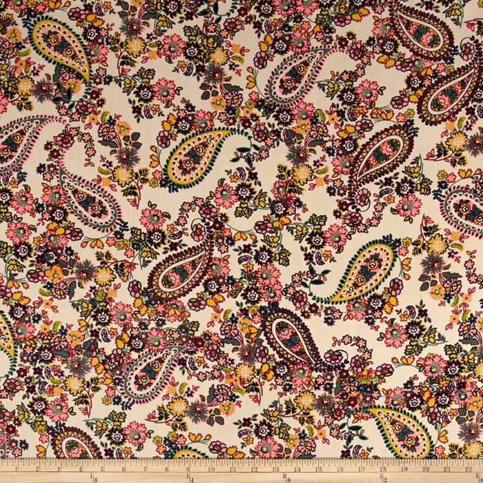 Baby corduroy paisley floral discount designer fabric for Children s corduroy fabric