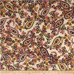 Baby Corduroy Paisley Floral