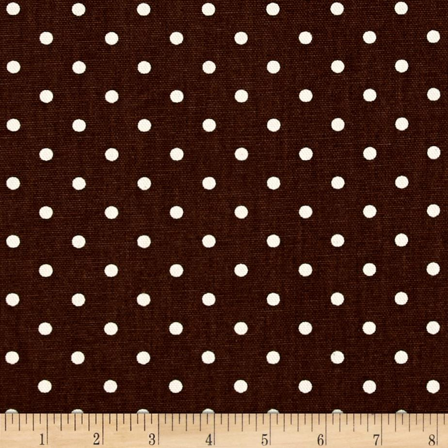Premier Prints Mini Dot Natural Village Brown/Natural