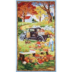 Bringing in the Harvest Large Panel Multi
