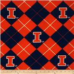 Collegiate Fleece University of Illinois Blue