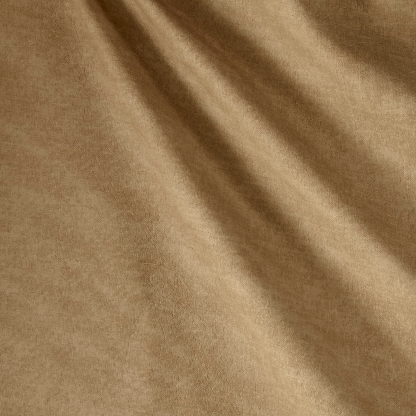 Richloom Tough Faux Leather Supima Latte Fabric By The Yard by Richloom in USA