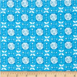 Valori Wells Ashton Road Flannel Geo Plaid Turquoise