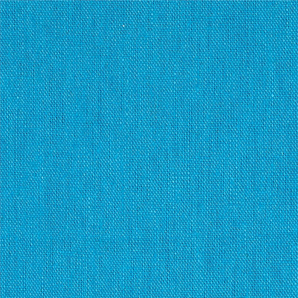 Rayon linen blend turquoise discount designer fabric for Fabric purchase