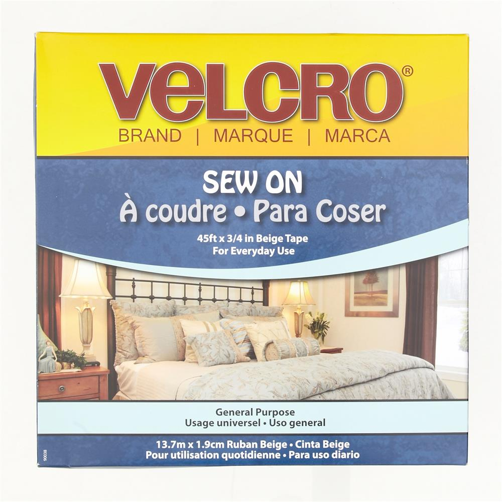 Velcro Sew On Tape Roll 3/4