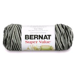 Bernat Super Value Ombre Yarn Hi Tech