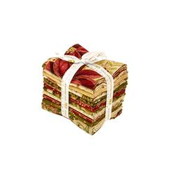 Robert Kaufman Holiday Flourish Country Fat Quarter Bundle Multi