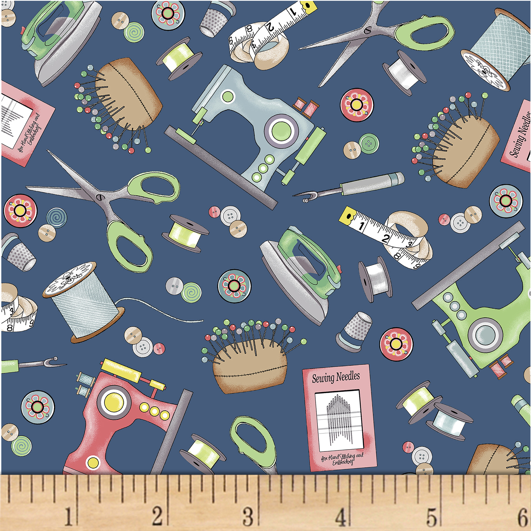 INOpets.com Anything for Pets Parents & Their Pets Betterstitch Sewing Tools Dark Blue Fabric