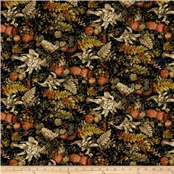 Fall's Canvas Potpourri Black/Brown