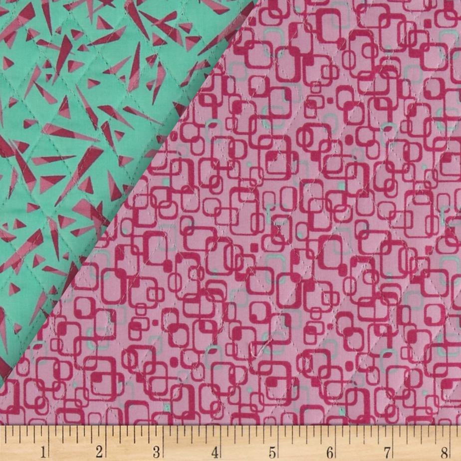 Graphix 3 Quilted Link Squares Orchid