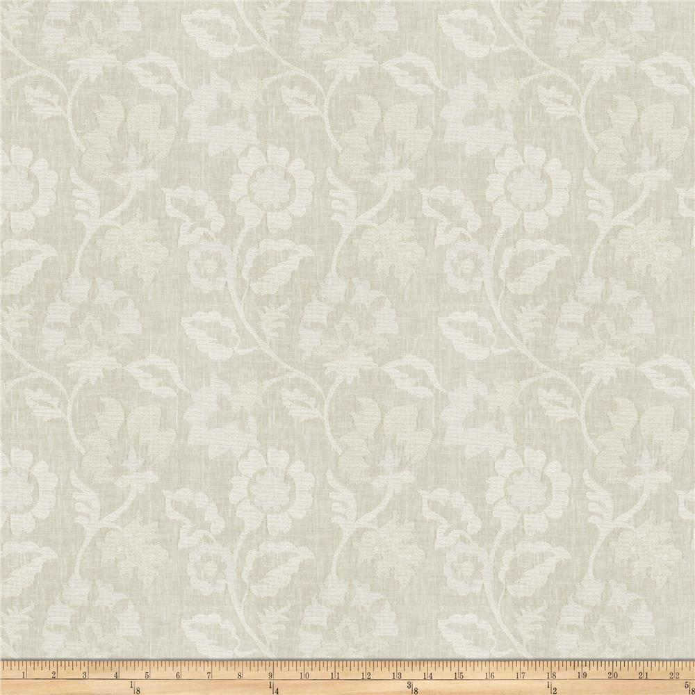 Fabricut Lady Luck Linen Blend Cloud