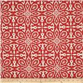 Tempo Indoor/Outdoor Geo Florals Red