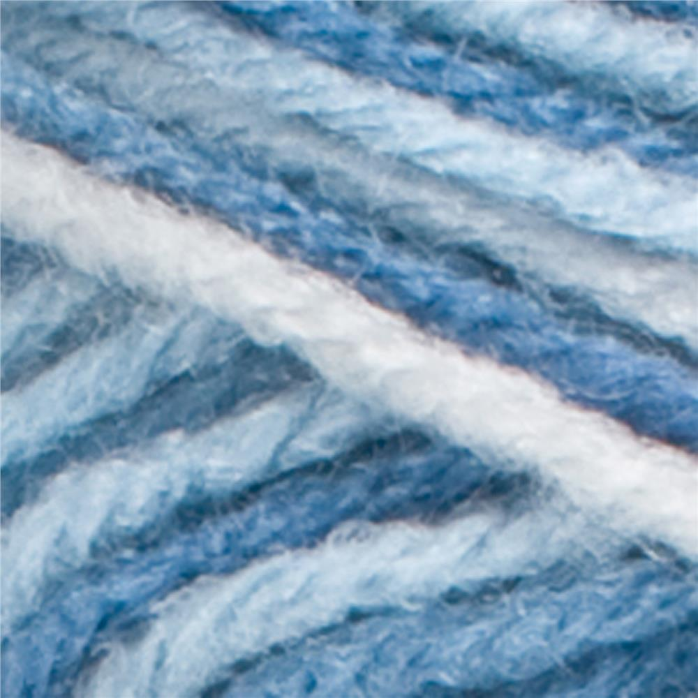 Red Heart Super Saver Camo Yarn 970 Dress Blues