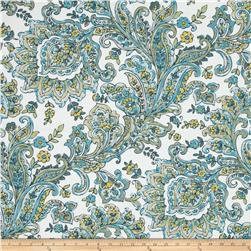 Tempo Indoor/Outdoor Garden Floral Blue Fabric