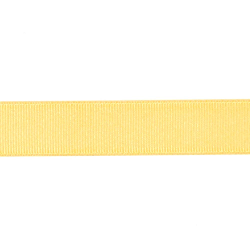 "May Arts 3/4"" Grosgrain Ribbon Spool Yellow"