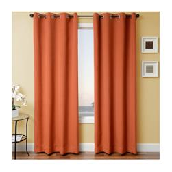 Sunbrella 84'' Solid Grommet Outdoor Panel Rust