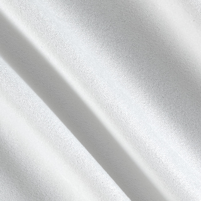 Ramtex Microsuede White Fabric by Ramtex in USA