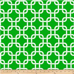 Premier Prints Gotcha Callie Green/White Fabric