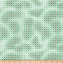 Ombre Dot Green