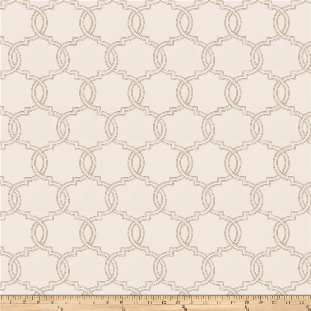 Trend 03679 Embroidered Dove Grey