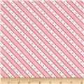 Moda Celebration Stripe Pink