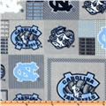 Collegiate Fleece University Of North Carolina Plaid Blocks