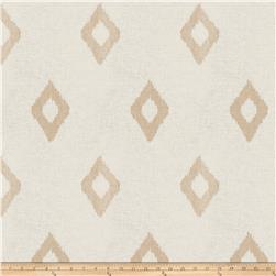Fabricut Abree Diamond Linen Blend Flax