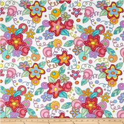 Modern Love Large Floral White/Multi