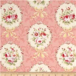 Lecien Rococo Sweet Flower Medallion Pink