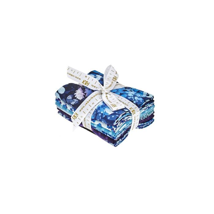 Kaufman Garden Allure Fat Quarter Cobalt