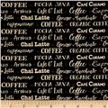 Coffee House Coffee Words Black