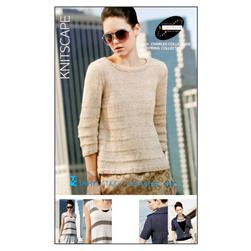 S. Charles Knitscape Spring Collection Knitting Pattern Book