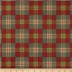 Jo Morton Charleston Plaid Orange