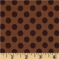 Kaufman Spot On Medium Dot Mocha