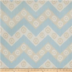 Fabricut 50034w Chevron Wallpaper Mist 02 (Double Roll)