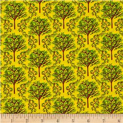 Barnyard Quilts Trees Yellow