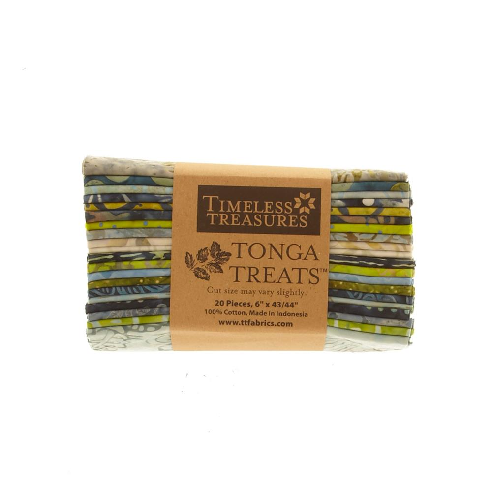 Timeless Treasures Tonga Treats Bluegrass 6 In. Packs