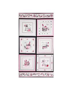 Glamour Inc. Box 24 In. Panel Pink