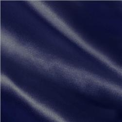 Silky Satin Solid Navy Blue