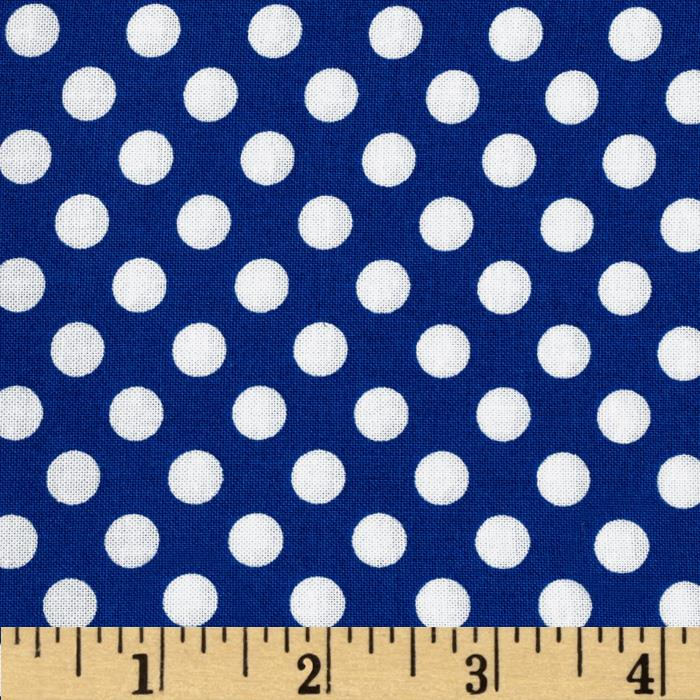 Kaufman Spot On Medium Dot Riviera