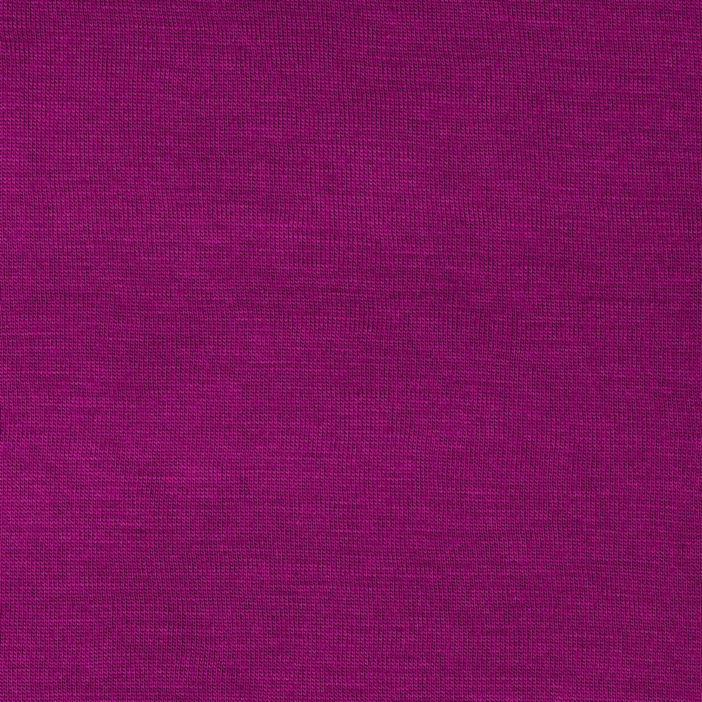 Stretch Rayon Jersey Knit Boysenberry Fabric