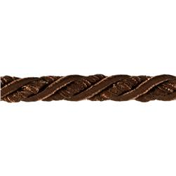 "Shanae 3/8"" Twisted Cord Trim Chocolate"