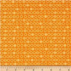 Riley Blake Boy Crazy Circles Orange