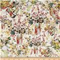 Liberty of London Tana Lawn Hugo Grenville Red/Gray/Orange