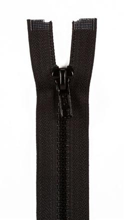 Sport Separating Zipper 18'' Black