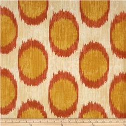 Braemore Dots Are Hot Ikat Daffodil